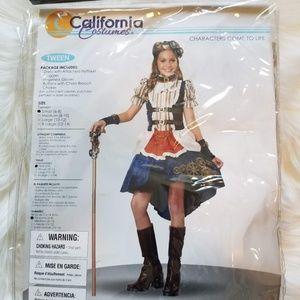 California Costumes Steampunk Fashion Girl Costume